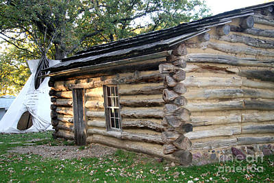 Photograph - Abbie Gardner Cabin by Amelia Painter