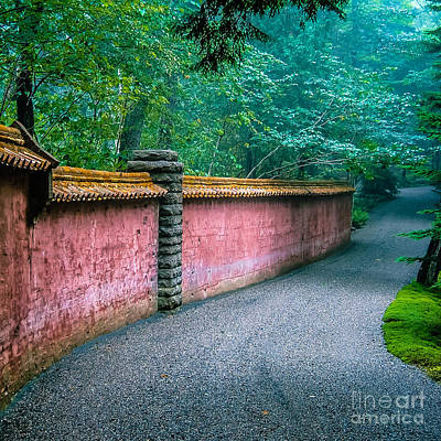 Maine Roads Photograph - Abby Aldrich Rockefeller Garden by Edward Fielding