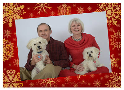 Photograph - Abby's Family Christmas Card by Irina ArchAngelSkaya