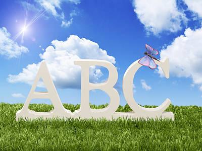 ABC Art Print by Amanda Elwell