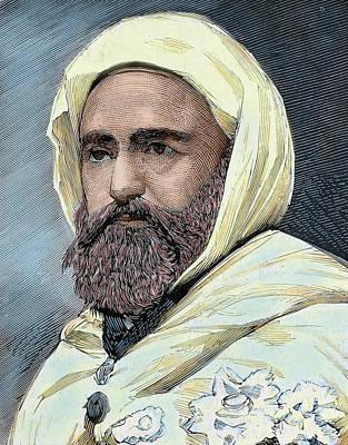 Abd Al-qadir B Muhyi Al-din Al-hasani Art Print by Prisma Archivo