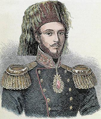 Abdulmecit I (1823-1861 Art Print by Prisma Archivo