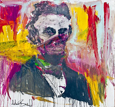 Painting - Abe Lincoln - By Adam Brett by Adam Brett