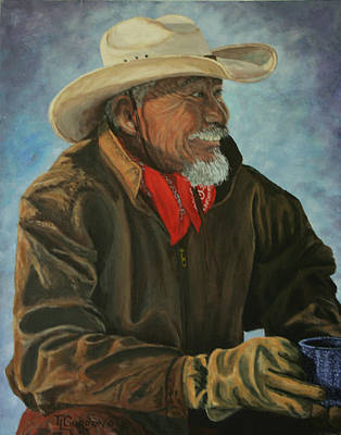 Ranchers Painting - Abe by Timithy L Gordon