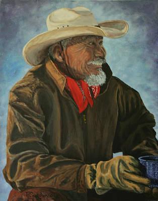Cortez Painting - Abe by Timithy L Gordon