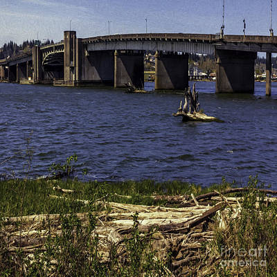 Aberdeen Bascule Bridge Art Print