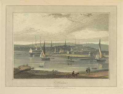 Aberdeen City And Port Art Print by British Library