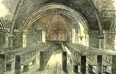 Aberdeen East Church The Crypt 1885 Uk Art Print