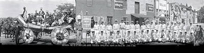 Aberdeen Fire Company At Maryland State Art Print