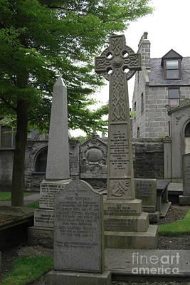 Photograph - Aberdeen Grave Markers by Deborah Smolinske
