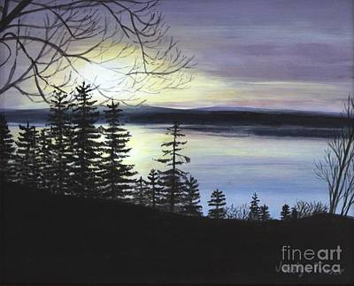 Painting - Aberdeen Sunrise by Jesslyn Fraser