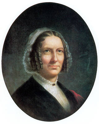 First Lady Photograph - Abigail Fillmore, First Lady by Science Source