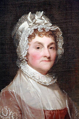 Photograph - Abigail Smith Adams By Gilbert Stuart Up Close -- 1 by Cora Wandel