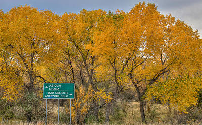 Photograph - Abiquiu Autumn by Britt Runyon