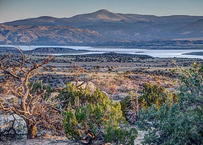 Photograph - Abiquiu Lake by Alan Toepfer