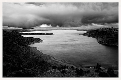 Idle Hour Photograph - Abiquiu Lake New Mexico Nm                    by Mark Goebel