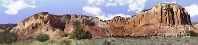 Abiquiu Painting - Abiquiu New Mexico by Ursula Freer