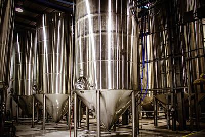 Abita Beer Brewery 4 Art Print by Angela Moreau