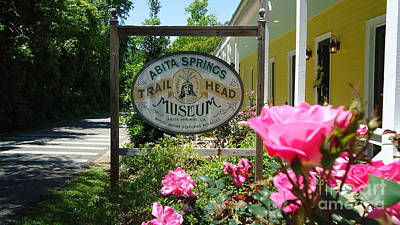 Photograph - Abita Springs Trailhead Museum by Katie Spicuzza