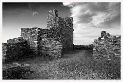 Abo Ruins New Mexico     Art Print by Mark Goebel