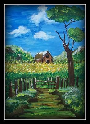 Abode Art Print by Juna Dutta