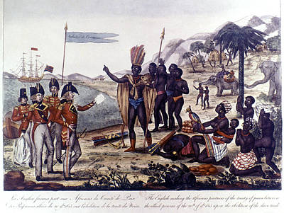 Abolition Of Slavery, 1815 Art Print