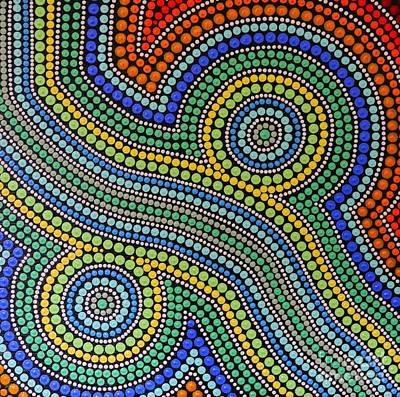 Aboriginal Inspirations 15 Art Print