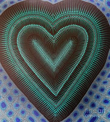 Aboriginal Inspirations 5 Art Print by Mariusz Czajkowski