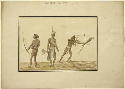 Aboriginals Of Orissa Art Print by British Library