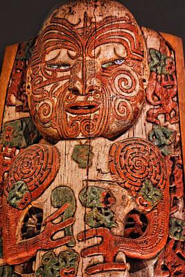 Aborigine Carved Figure Original