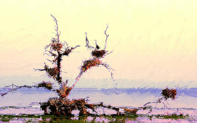 Beauty Painting - Dry Lives by VRL Art