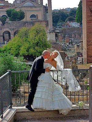 About Love. On The Ruins Of The Great Empire. Rome. Italy. Original by Andy Za