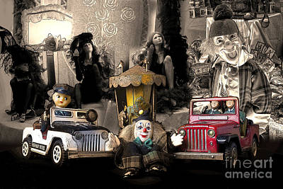 Photograph - About Time - Des Jouets Vintage by Sandro Rossi
