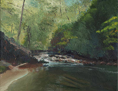 Painting - Above Bald River Falls by William Killen