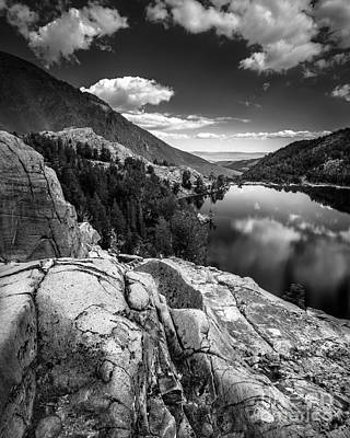Photograph - Above Cooney Lake by Alexander Kunz