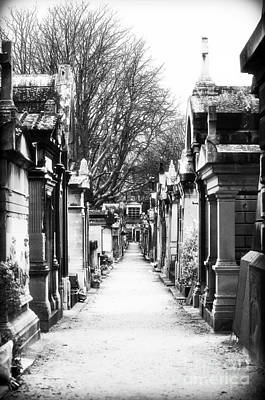 Cemeteries Of Paris Photograph - Above Ground by John Rizzuto