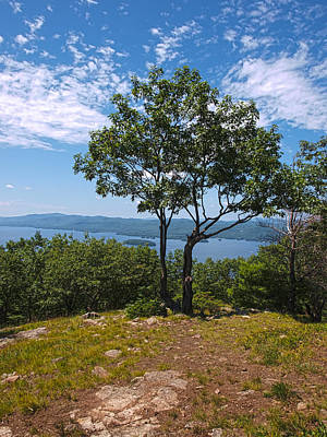 Photograph - Above Lake George by Joshua House