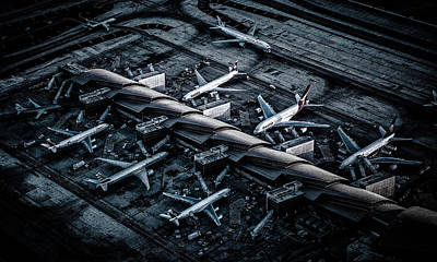 Above Lax Art Print