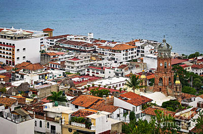 Photograph - Above Puerto Vallarta by Elena Elisseeva