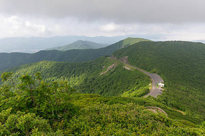 Photograph - Above The Blue Ridge Parkway  North Carolina by Willie Harper