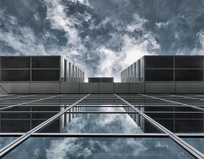 Rotterdam Photograph - Above The City by Jeroen Van De