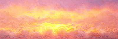 Above The Clouds - Abstract Art Print by Jaison Cianelli