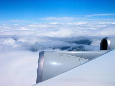 Photograph - Above The Clouds by Dennis Lundell
