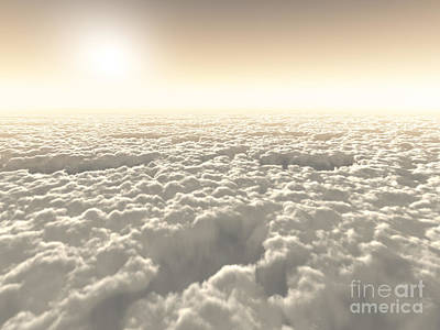 Above The Clouds Art Print by Diuno Ashlee