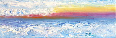 Christmas Patents Rights Managed Images - Above The Clouds II Royalty-Free Image by Tracey Peer