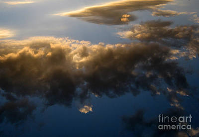 Art Print featuring the photograph Above The Clouds by Janice Westerberg