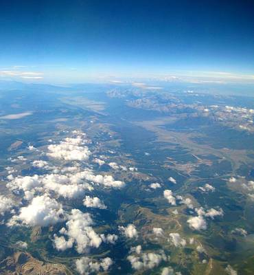 The Window Up Above Photograph - Above The Clouds by Michele Stoehr