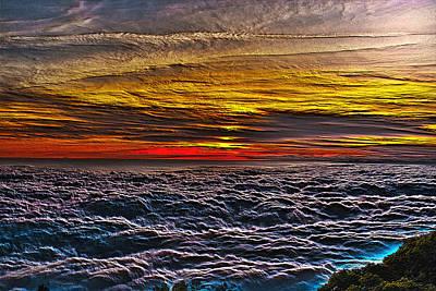 Photograph - Above The Marine Layer V3 by Richard J Cassato