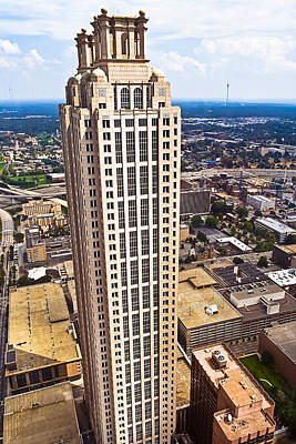 Photograph - Above The Rest - Atlanta 191 Peachtree by Mark E Tisdale
