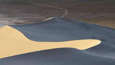 Sand Dune Photograph - Above The Road by Chad Dutson